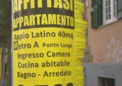 Affitti in nero: boom a Roma