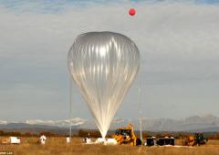 Mongolfiera per viaggi nello spazio, pronta nel 2015