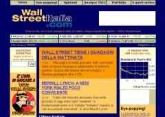 Nuova veste grafica del sito Wall Street Italia