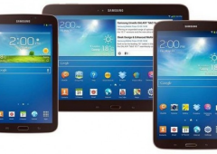 Tablet: sbarcano in Italia i nuovi Samsung Galaxy 3