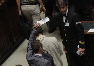 Finanziamento pubblico partiti: caos in Aula