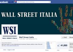 Wall Street Italia cresce su Twitter e Facebook