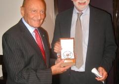 Direttore Guggenheim premiato dal GEI per suo contributo all' arte italiana