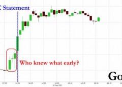 Boom oro pre annuncio Fed. Chi ha parlato?