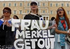 Merkel tra greci inferociti e tedeschi nostalgici del marco