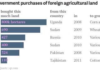 La Cina compra il 5% dell'Ucraina