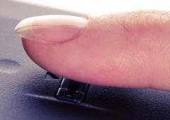 Primo sistema di pagamento con impronte digitali