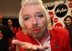 """Miliardario Branson ai caraibi per """"scelta di vita"""""""