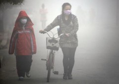 """Smog: in Cina è """"Airpocalisse"""", non si vede a 10 metri di distanza"""