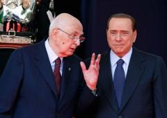 """Napolitano su grazia a Berlusconi: """"Ridicole panzane"""""""