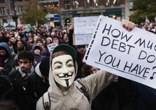 Occupy Wall Street compra 15 milioni di debito privato Usa