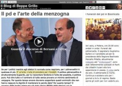"""Grillo attacca: """"larghe intese decise prima del voto"""""""