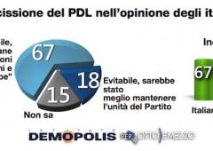 Elettori PdL: Sei su 10 stanno ancora con Berlusconi