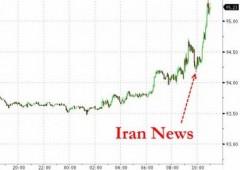 Balzo del greggio: salta accordo nucleare Iran