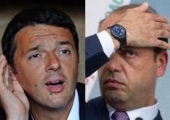 Letta al Colle. Botta e risposta tra Renzi e Alfano