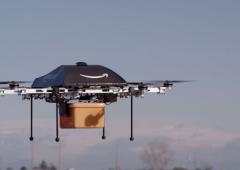 Amazon si servirà dei droni per consegnare pacchi