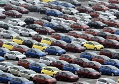 Italia: mercato auto ancora in crisi. Immatricolazioni -4,5%