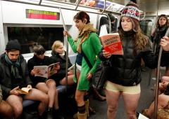 New York: sfida contro il freddo, newyorchesi andranno in metropolitana in mutande