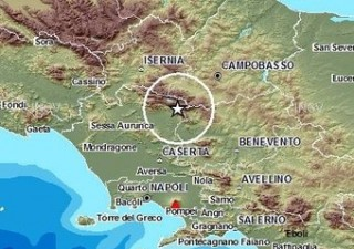 Terra torna a tremare. Terremoto 4,2 in Campania e Molise