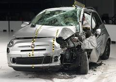 Sicurezza auto: Fiat 500 bocciata negli Usa