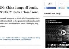 "Gaffe Cnn: ""Cina sta vendendo tutti i bond Usa"""