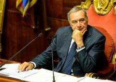 Forza Italia: coro unamime per dimissioni di Grasso