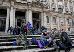 Forconi occupano la Camera: blitz a Roma