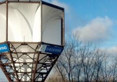 Fino al 600% di energia in più con turbine eoliche a imbuto