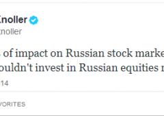 """Stato di guerra in Crimea e sui mercati. Casa Bianca: """"Non acquistate titoli azionari russi"""""""