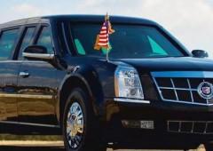 """Obama a Roma. Arriva anche la """"bestia"""", la sua super limousine"""