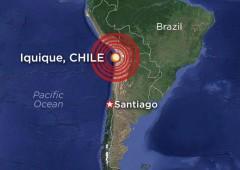 Terremoto di magnitudo 8,2 in Cile, alert tsunami. Almeno 5 morti