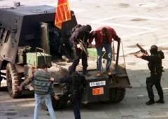 Un carro armato a Piazza San Marco
