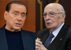 Berlusconi al Colle, spera ancora nella grazia. No Napolitano