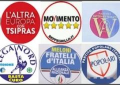 Europee, ecco i simboli dei (soliti) partiti