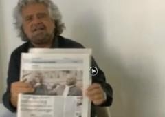 Grillo vs Repubblica: 'Io non dovrei smentire, ma questo è il dossier del nostro amico svizzero CdB'