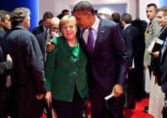 """Obama a Berlino: """"Non si torna indietro nella globalizzazione"""""""