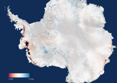Antartide: 159 miliardi di tonnellate di ghiacci persi ogni anno