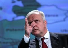 """Rehn (BCE) loda l'Italia: """"ha potenziale enorme"""". Ma lancia monito: """"non si isoli"""""""