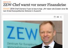 Tassi Ue, Weidmann (Bundesbank) polemizza con economista Zew