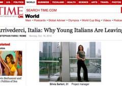 Crisi, raddoppia il numero degli italiani in fuga