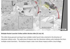 Usa mostra immagini che provano attacchi russi in Ucraina