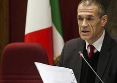 Cottarelli minaccia di andarsene