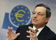 Euro inflazione: Bce decide se ha bisogno di azioni extra (oltre al piano LTRO)