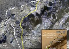 "Curiosity Rover Report da Marte: ""arrivato a Mount Sharp"""