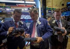 Wall Street chiude in rosso, sui minimi di giornata
