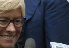 Ministro Difesa Pinotti è rientrata a casa su un aereo militare