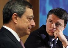 Banche, nessuno compra sofferenze. Renzi infuriato con Draghi