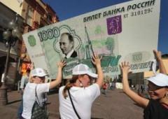 Il rublo sta collassando e Putin non può fare nulla per fermare discesa