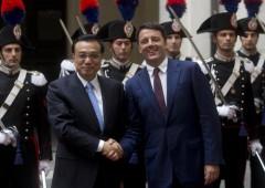 Cina Italia, joint ventures: Renzi incontra premier di Pechino
