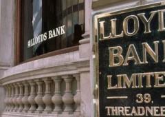 Lloyds, utili balzano +41%. Ma banca verso 9.000 tagli e chiusura 150 agenzie